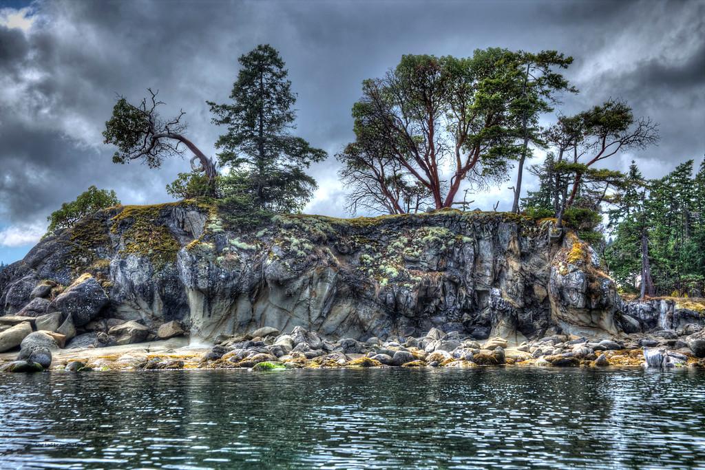 Island in LeBeouf Bay 2