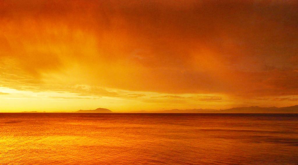 Texada at Sunset