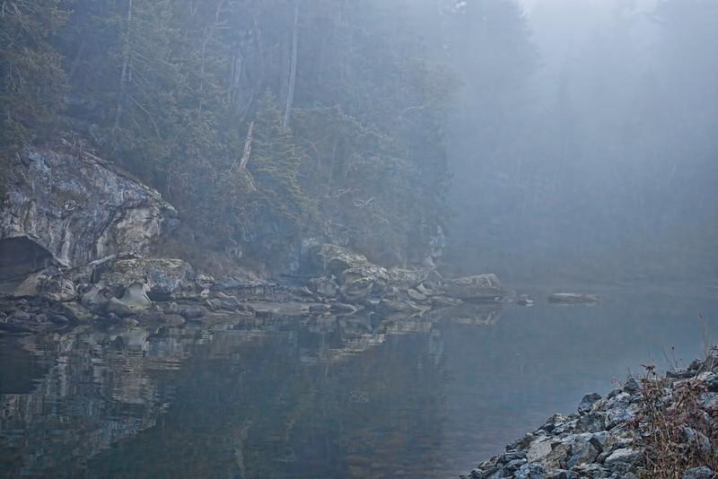 Fog at Descanso Bay