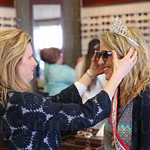 Jaime Field fitted Princess Kathryn Ashby for sunglasses.