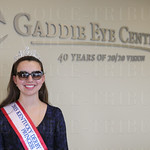 Princess Madison Evans was all smiles as she wore her newly selected pair of sunglasses.