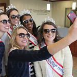 The 2015 Kentucky Derby Festival Royal Court took a selfie: Madison Evans, Kyle Hornback, Kathryn Ashby ( taking the image), Briana Lathon and Sophie Knight.