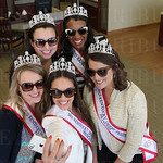 The 2015 Kentucky Derby Festival Royal Court took a selfie: front row: Sophie Knight, Kyle Hornback ( taking the image), Kathryn Ashby, Madison Evans and Briana Lathon.