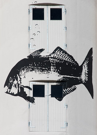 Motiv fra klatresiloen på Haderslev havn