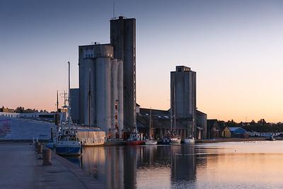 Haderslev - Havnen i morgengry 2009