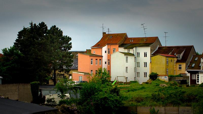 Huse i Slotsgade, Haderslev