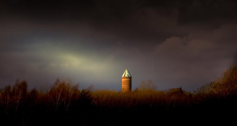 Det røde vandtårn