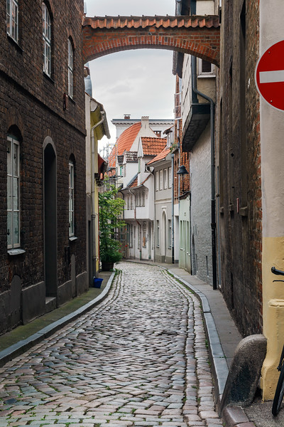 Stræde i Lübeck copy