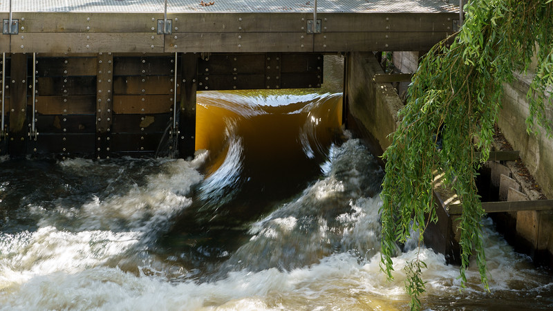 Sluse ved Ribe å