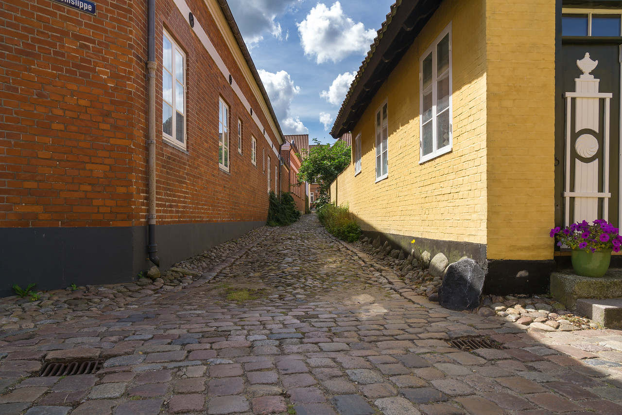 Mellemslippe - gyde i Ribe