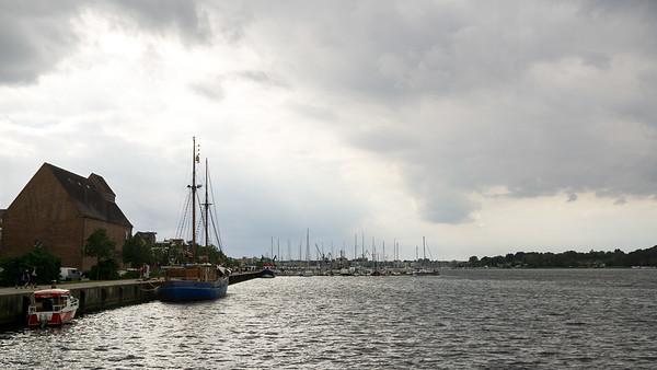 Lystbådehavnen i Rostock