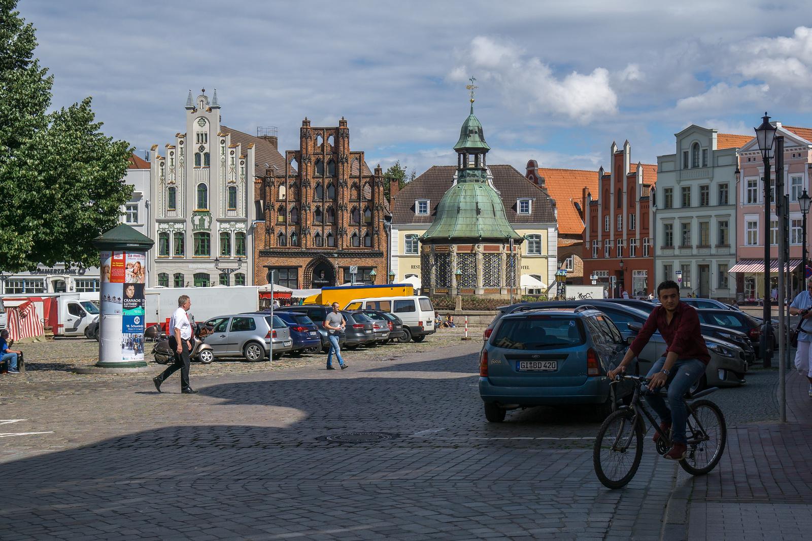 Marktplatz i Wismar jpg