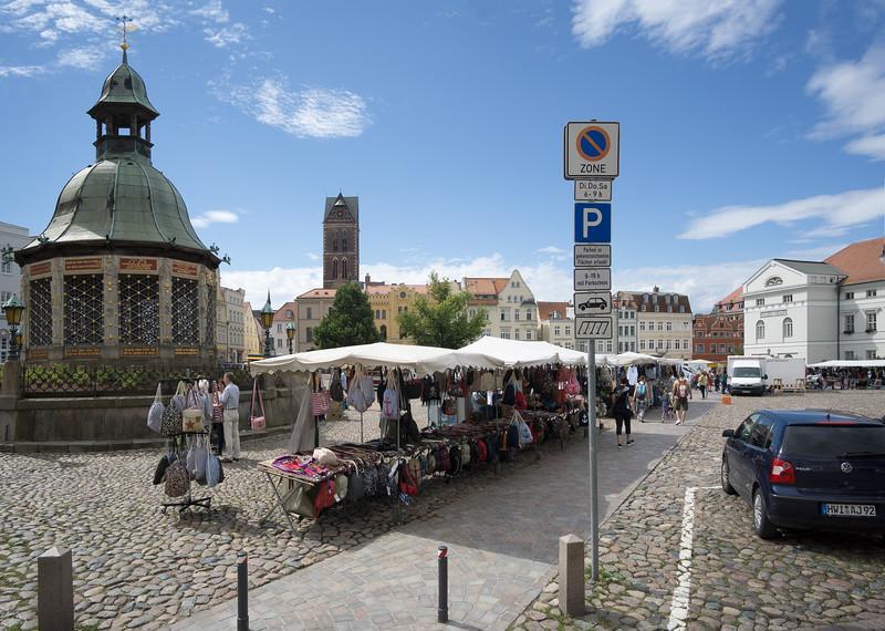 Marktplatz i Wismar
