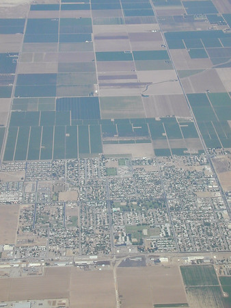 A small town southeast of Bakersfield in the San Joaquin Valley.