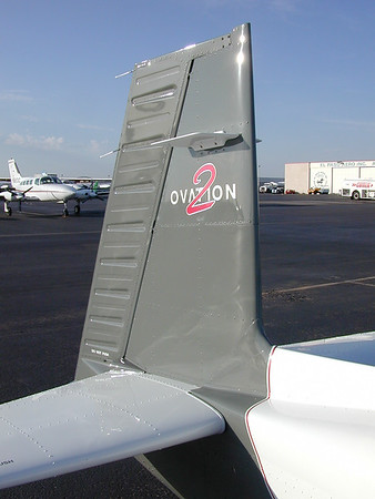 """The classic """"backwards"""" Mooney tail."""