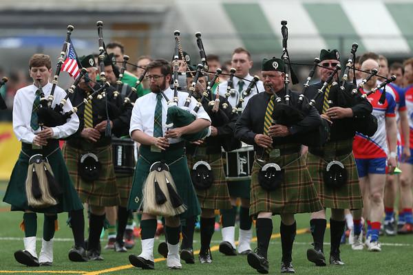 Gaelic Football Connacht Championship - NY v Leitrim 2018