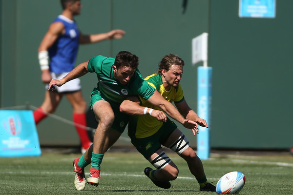 Ireland Men's at the Rugby World Cup Sevens 2018