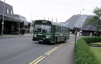 GaelicBus HNE636N Parade Fort William 2 Sep 89