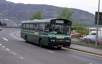 GaelicBus JGE346T Ring Rd Fort William Sep 89