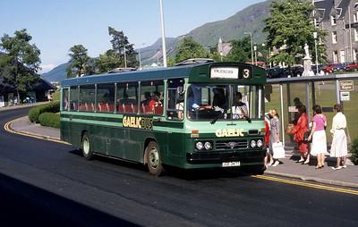GaelicBus JGE347T Parade Fort William 2 Jun 88