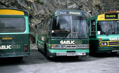 GaelicBus CFS119S Depot Ballachulish May 95