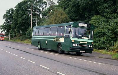 GaelicBus ESU423T Annat Rd Fort William Aug 87