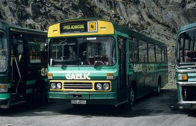 GaelicBus ESU423T Depot Ballachulish May 95