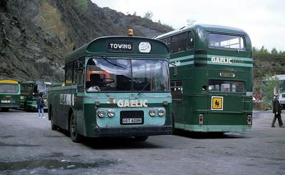 GaelicBus GST429N Depot Ballachulish May 95