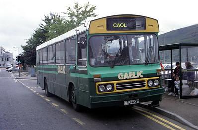GaelicBus ESU423T Middle Rd Fort William Aug 95