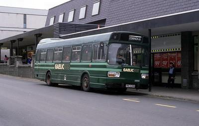 GaelicBus HNE636N Parade Fort William 1 Sep 89