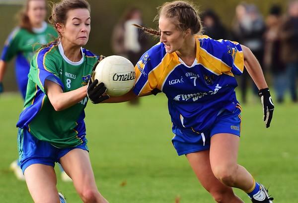 Parnells v Naomh Ciaran - All-Ireland Quarter Final 16