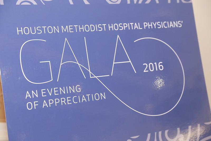 HOUSTON METHODIST PHYSICIAN'S GALA 2016