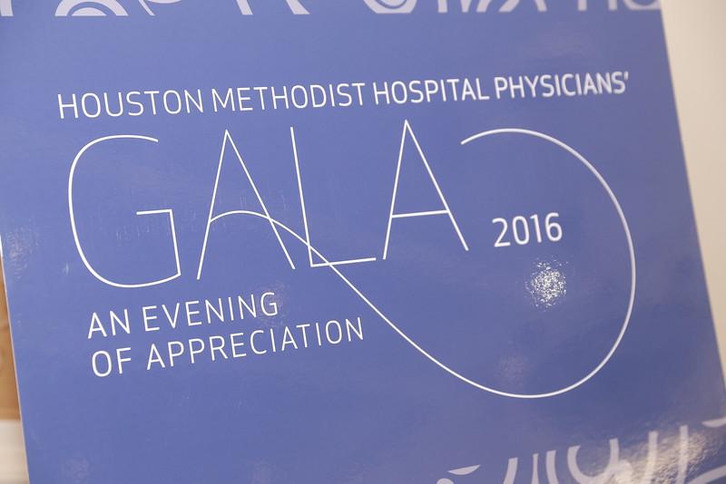 HOUSTON METHODIST PHYSICIAN'S GALA 2016