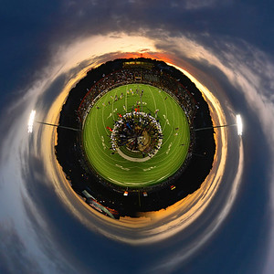 House Park One Mobile Orbiting Football Cruiser (Austin High vs. Akins)
