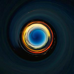 Blue Sunset Spiral, Lake Travis at Dusk