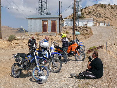 A Break at the Electrical Towers near Goodsprings