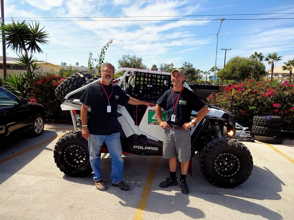 Larry Dysert (navigator) and Bob Jones (driver)