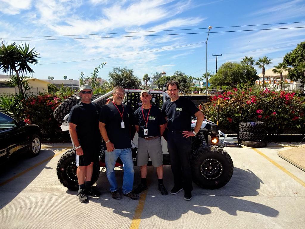 The Team - (l to r) Cory Johnson, Larry Dysert, Bob Jones, Harry Taylor