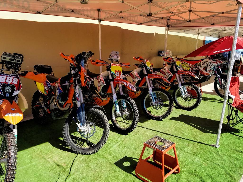 The Big Guys Garage motorcycles