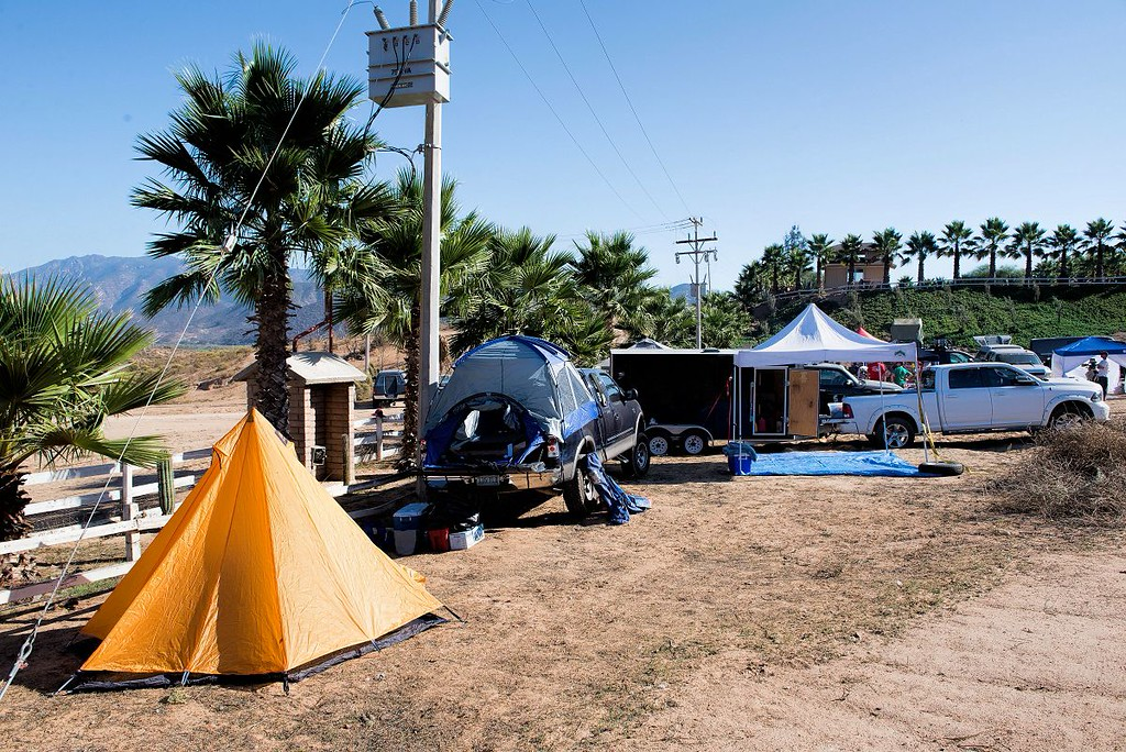 1st night bivouac after the qualifying race