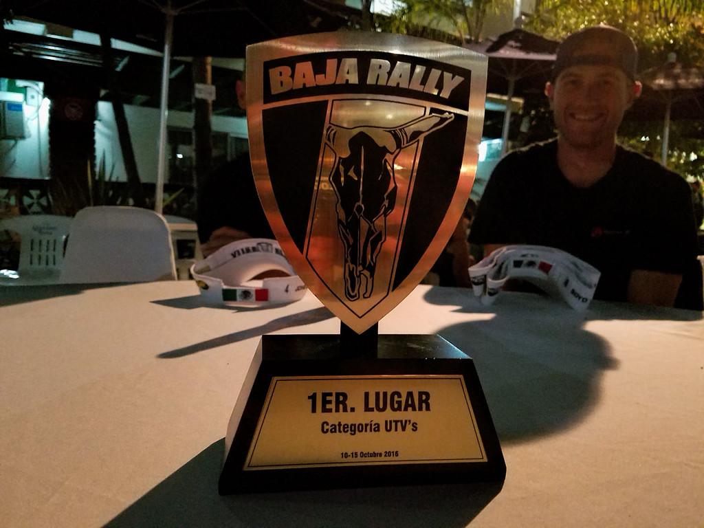1st Place UTV Trophy