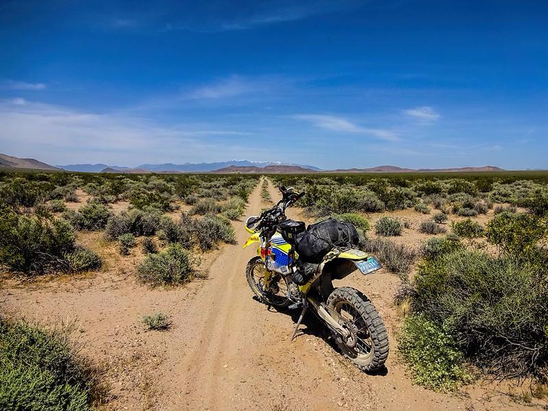 California Desert - near Old Spanish Trail Highway