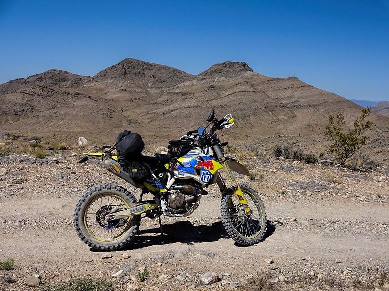 Nevada Desert Powerline Road - towards Pahrump