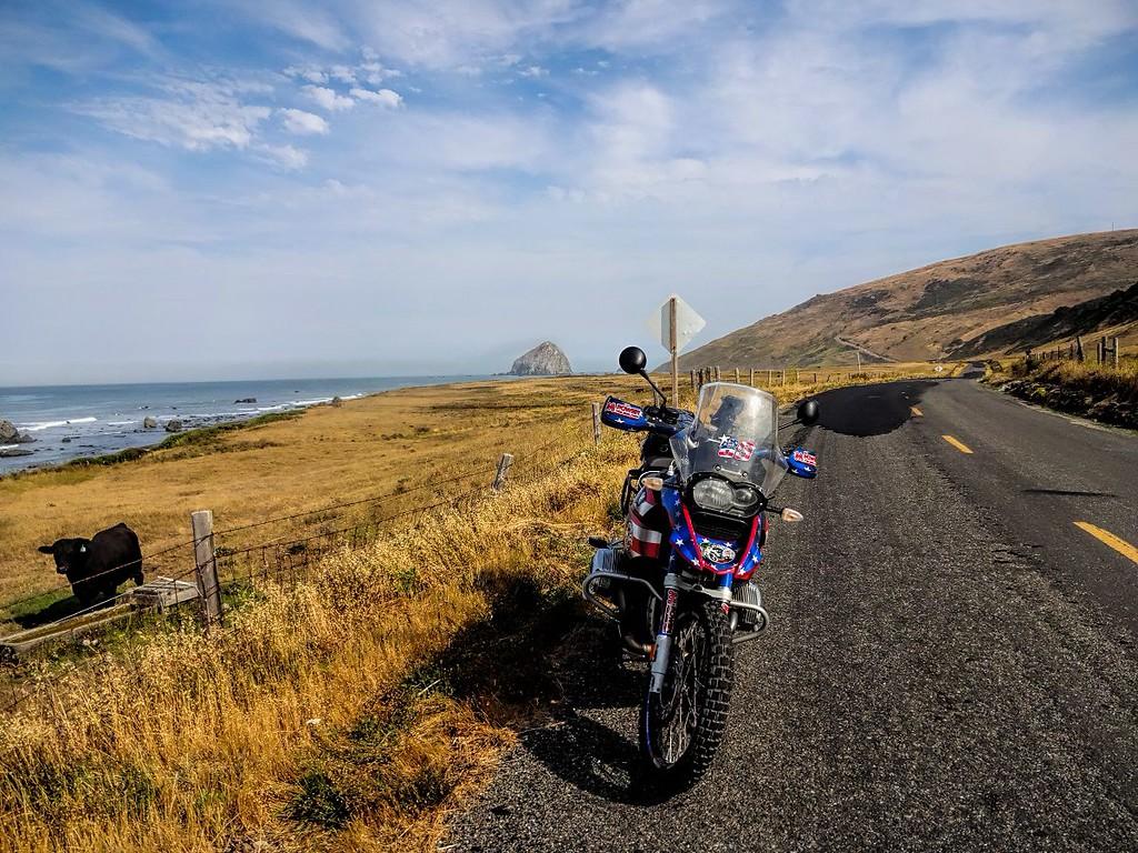 Mattole Road along the Lost Coast