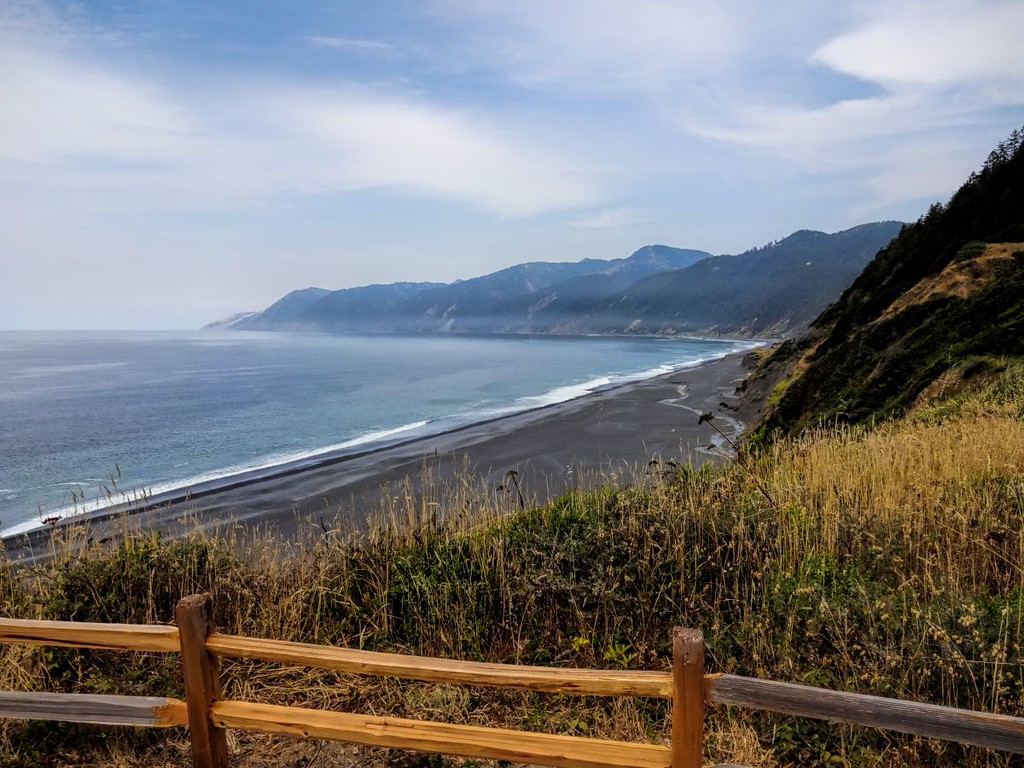 Black Sand Beach - just north of Shelter Cove