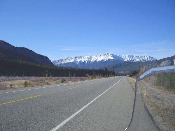 Hwy 16, heading to Jasper