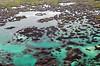 Los Tuneles, Isabela; overflights Galapagos January 2001