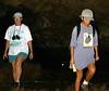 Heidi & Mali in lava tube