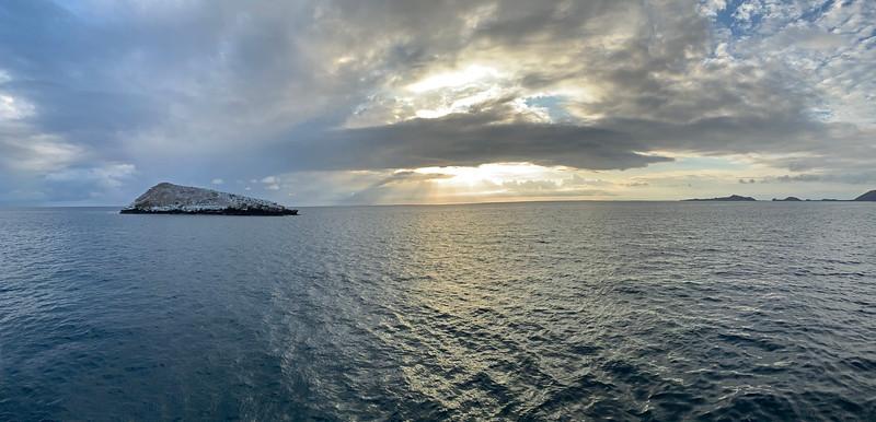 Cousin's Rock, east of Santiago Island, Galapagos, Ecuador