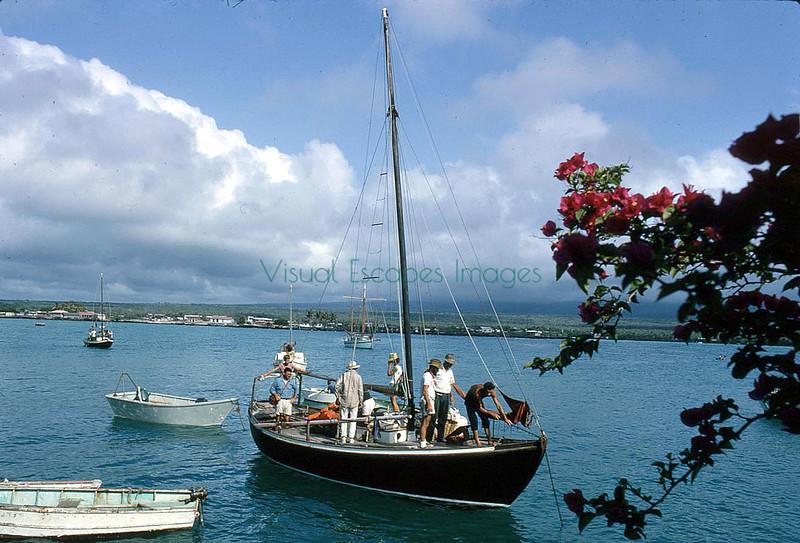 Landing Galapagos 1964